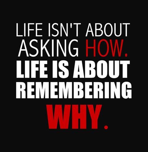 Remembering Why