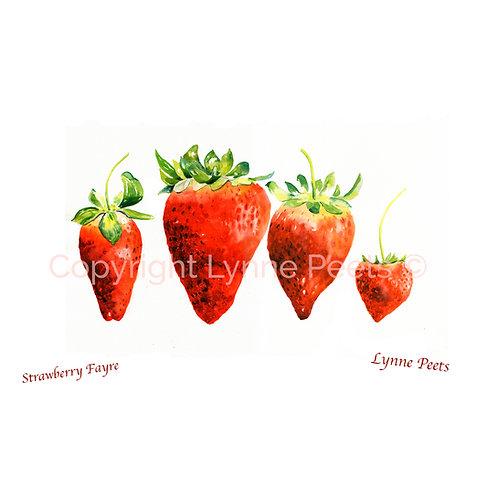 strawberries - fruit - family - Lynne Peets