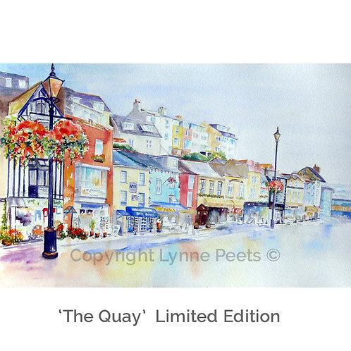 Quayside - Lynne Peets- Brixham Artist - watercolour paintings