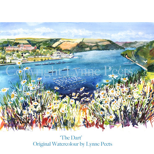The River Dart - Lynne Peets - Brixham