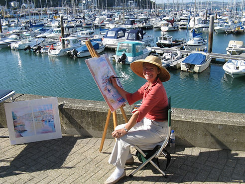 Lynne Peets Artist Brixham