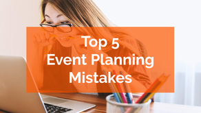 Avoid These Top 5 Event Planning Mistakes