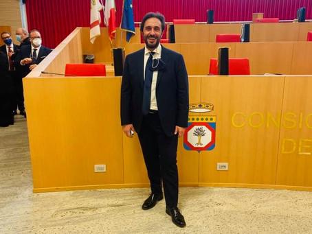 REGIONE PUGLIA: GIACOMO CONSERVA NUOVO CONSIGLIERE REGIONALE