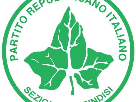 COMUNICATO STAMPA DEL PARTITO REPUBBLICANO ITALIANO, GRUPPO CONSILIARE AL COMUNE DI BRINDISI