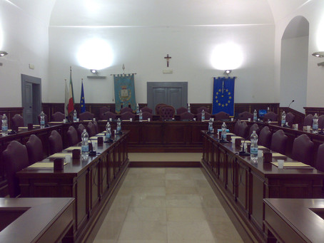 MARTINA FRANCA: CONVOCATO CONSIGLIO COMUNALE IN MODALITA' ORDINARIA L'1 E QUESTION TIME IL 2 MARZO