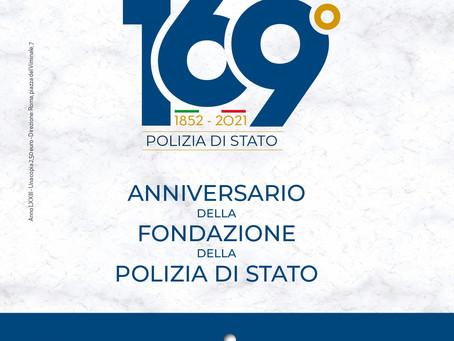 169° ANNIVERSARIO DELLA POLIZIA DI STATO: UNA POLIZIA AL PASSO CON I TEMPI
