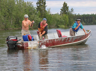 Besnard-Lake-Fishing-Northern-Pike-Walle
