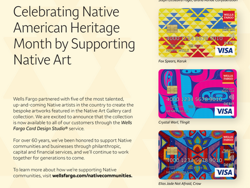 Supporting and Celebrating Native American Heritage with Newly-Launched Credit Card Designs