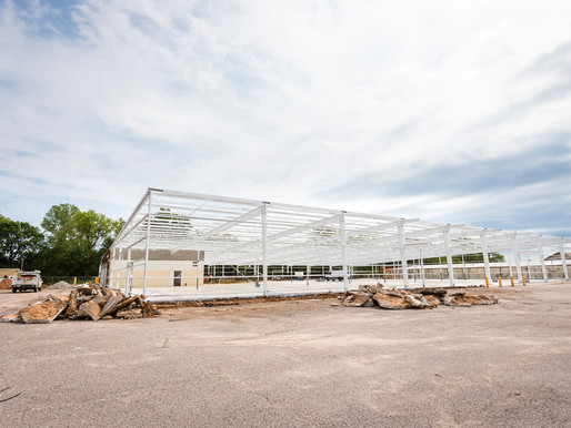 Former K-Mart in Ada, turned COVID-19 Health Center by Chickasaw Nation