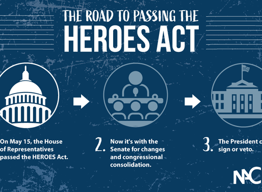 Demand Senate Passage of Updated Heroes Act