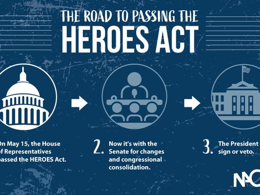 Demand Senate Passage of Updated Heroes Act