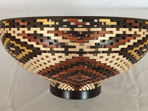 Chickasaw Artist Vicki Lynn Somers Wins SEASAM Award with Intricate Wooden Bowl