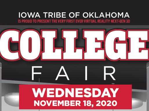 Tribe's Virtual College Fair