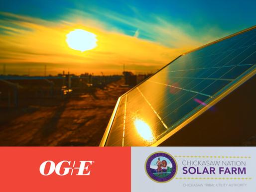 OG&E Completes Two Solar Energy Farms in SE Oklahoma