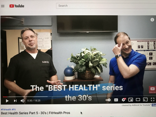 Best Health Series Part 5 - 30's | FitHealth Pros