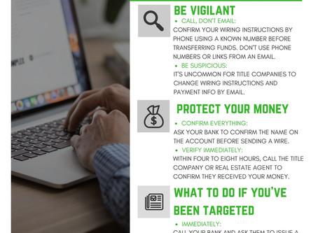 Beware of Wire Fraud!