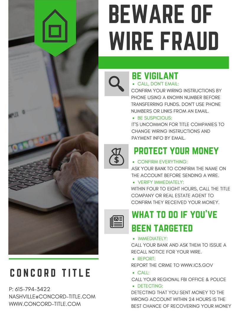 Pleasing Beware Of Wire Fraud Wiring 101 Tzicihahutechinfo