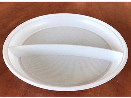 Тарелка 205мм 2-секц