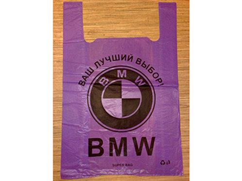 Пакет BMW 45 мкр 40*60 фиолетовый 50 шт