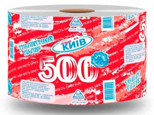 Туалетная бумага Новый Киев 500(16шт/уп)
