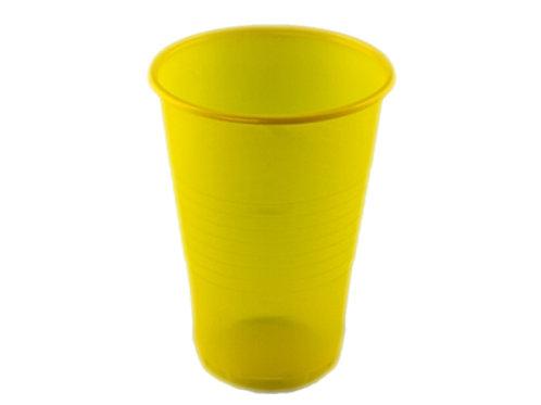 Стаканы 180ml 2,2 гр Атем РР 100 шт жёлтый