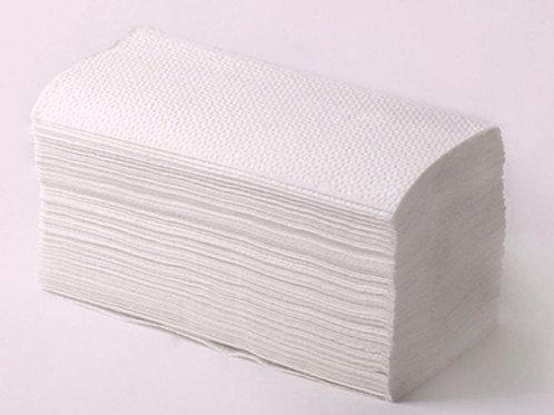 Полотенце бумажное ZZ сложения 160 шт серое