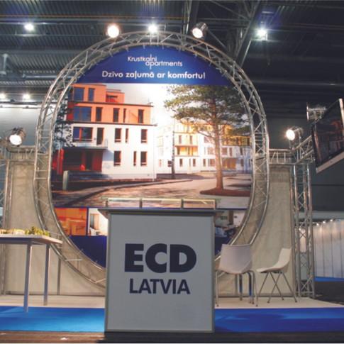 ECD stends, Latvija 2014