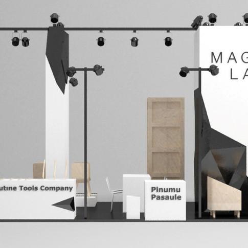 Magnetic Latvia stends, Japāna 2018