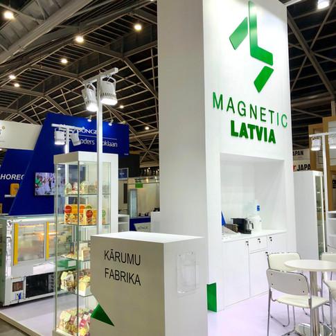 Magnetic Latvia stends, Singapūra 2018