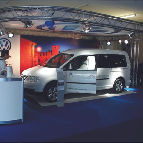 VW stends, Latvija 2014