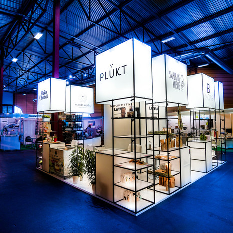 MAGNETIC LATVIA stand, Riga 2020