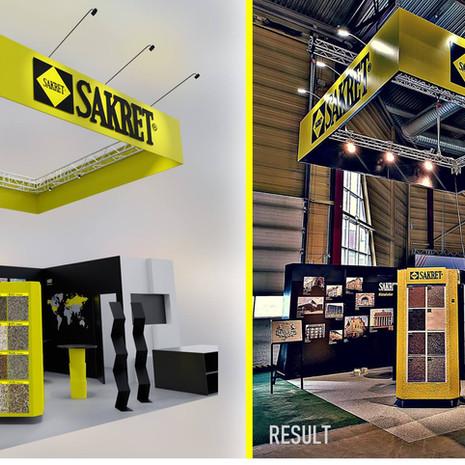 SAKRET stand RIGA 2019