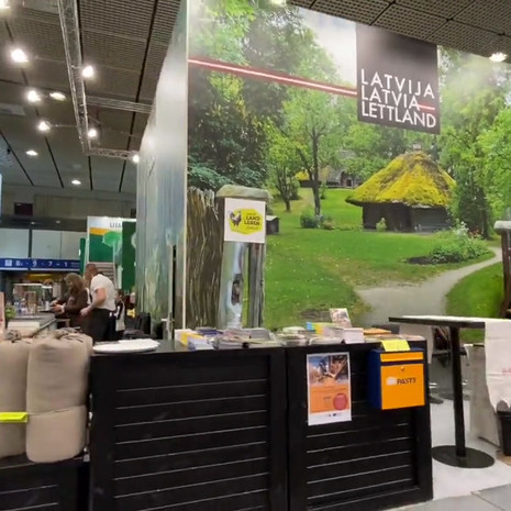Latvia National stand ITB2020, Berlin