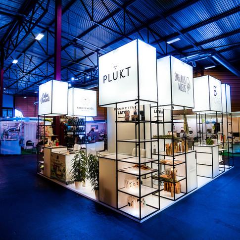 LIAA Biznesa inkubatora stends izstādēs, Latvija 2020