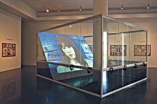 Muntadas, On Translation: The Games, 1996, installation view at Atlanta College of Art Gallery. Courtesy the artist and MichelaRizzo Gallery, Venice.