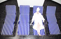 Comfortable Hammocks for Rest performance Lázaro Galdiano Museum, Madrid  2015