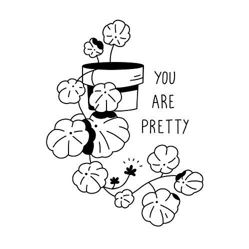 You are pretty