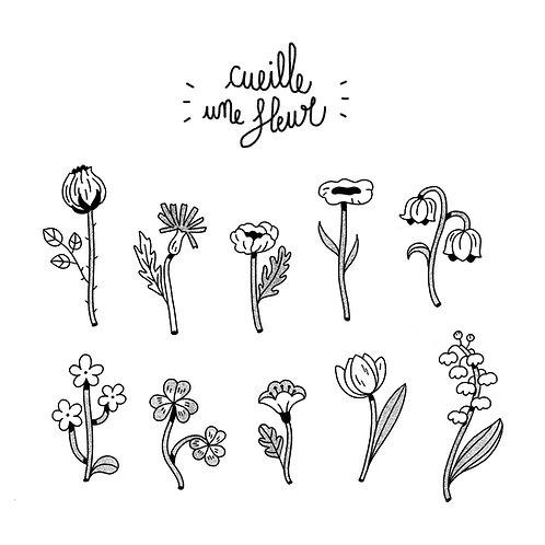 Cueille une fleur