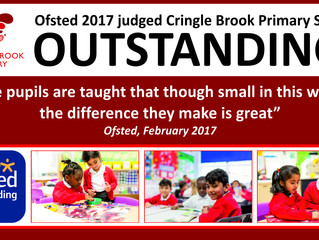 Cringle Brook - Ofsted graded Outstanding