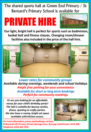 Sports Hall for Private Hire