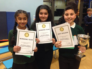 Public Speaking Competition Winners!