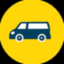 Pictogramme véhicule livraison
