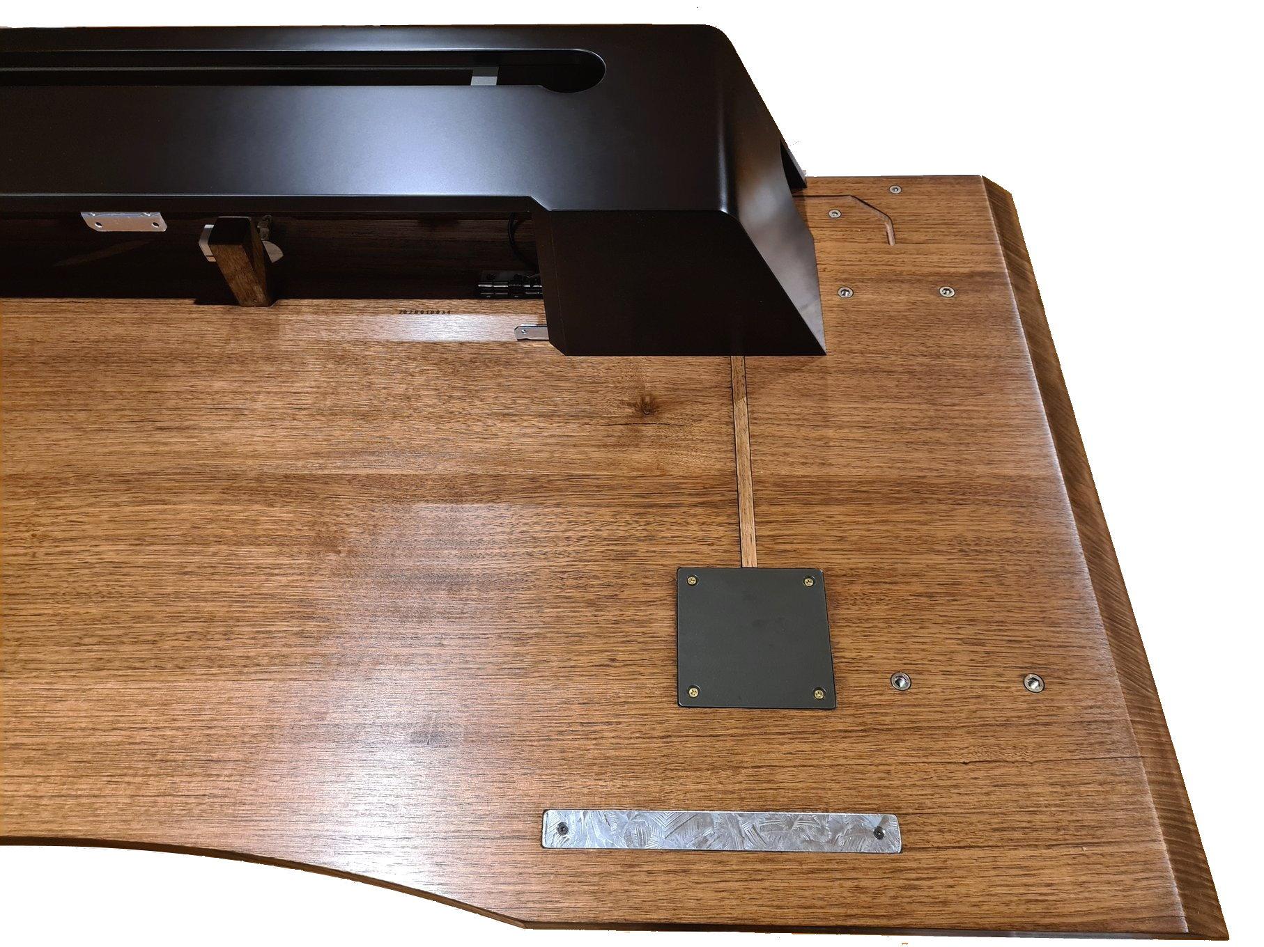Table top underside