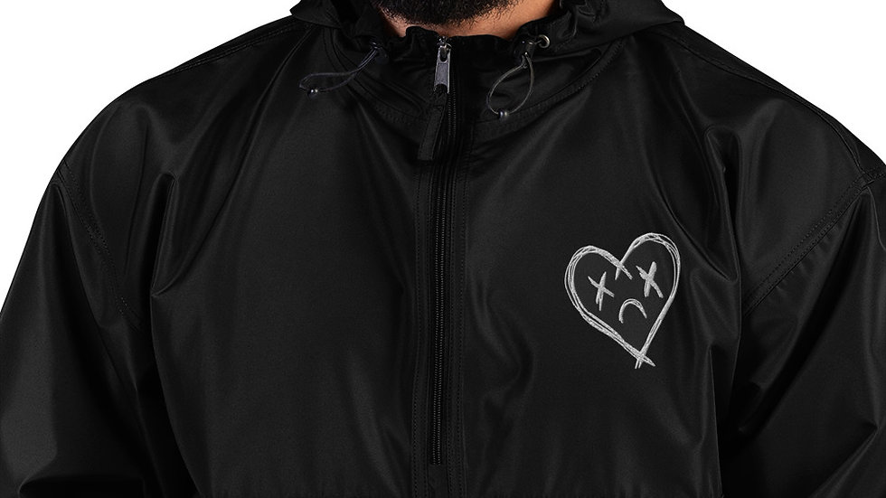 'M.L.B.H.' Embroidered Champion Packable Jacket