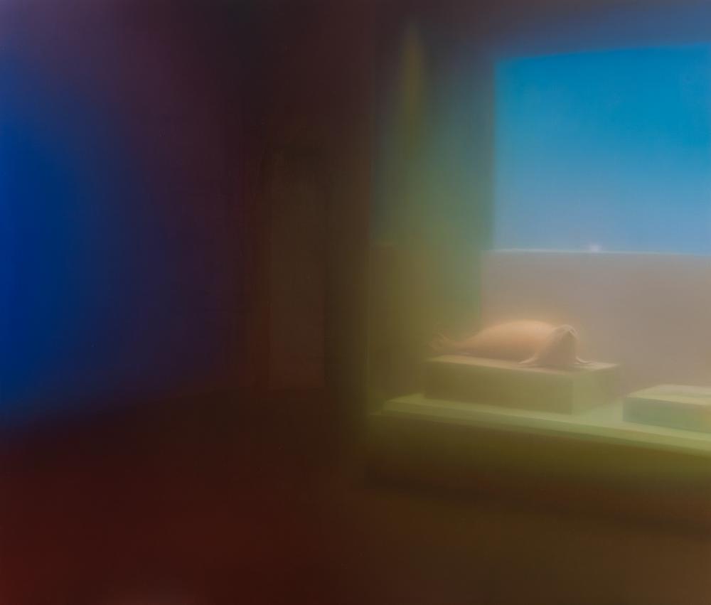 马思博 Ma Sibo  《海豹》Seal  2015 布面油画 Oil on canvas  170×200 cm