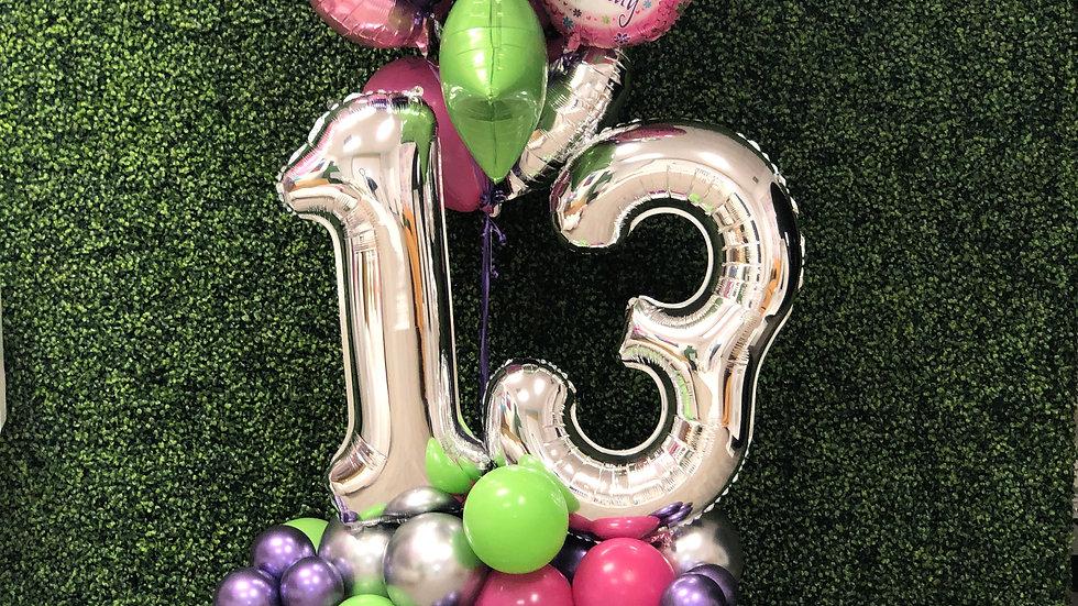 Birthday Balloon Bouquets