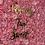 Thumbnail: Framed Pink Flower Wall Rental
