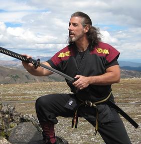 Quest Self-Defense Mark Sentoshi Russo Drawing a Sword