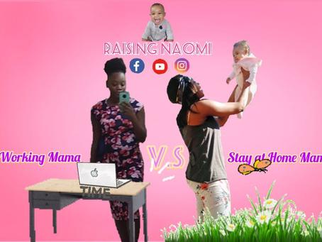 Stay At Home Mamas v.s Working Mamas