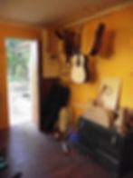 Workshop-photos | Gard | Sean Woolley Luthier Harp Guitar